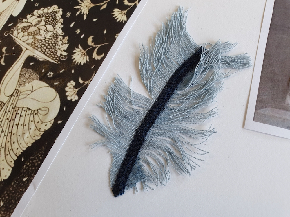 Denim Feathers with Natalie Bailey for Inspire with the Fitzty Peters