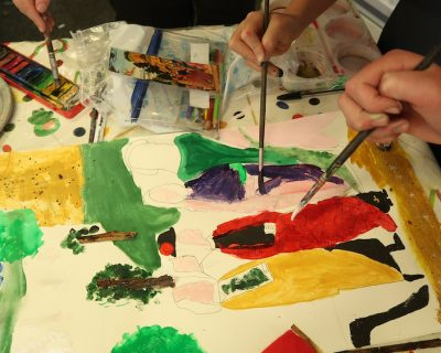 This post shares the pupils' Inspire journey and how they worked together exploring mixed-media on a large scale making a creative response to the Renaissance painting at the Fitzwilliam Museum, Cambridge.
