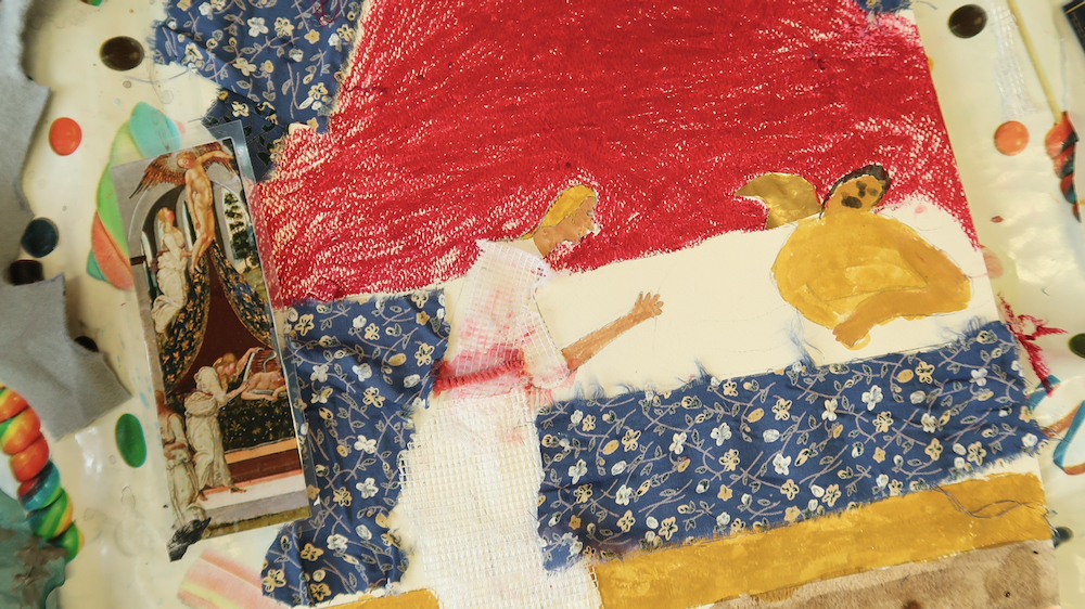 Close up of Cupid and Psyche - Cupid is revealed - Linton heights - Year five - Kirsty webb - Inspire