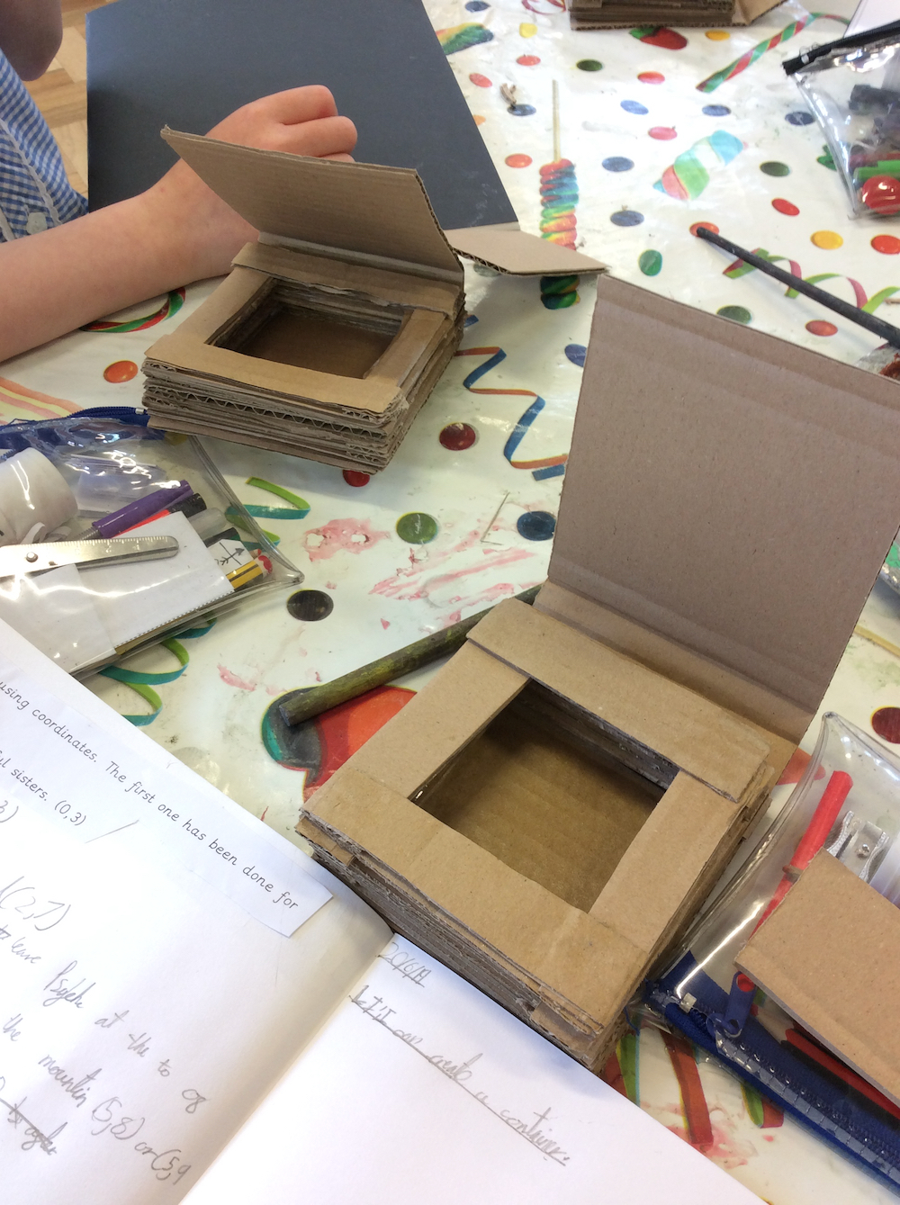 Year 4 pupils completed Harry Potter boxes at Linton Heights Junior School - Anna Campbell - Inspire