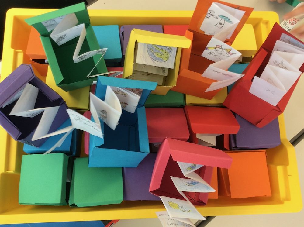 Story Boxes by Year 3 pupils at Linton Heights junior School - Anna Campbell - Inspire
