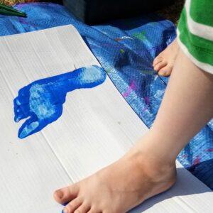 Vicki Ostersen Hands and Feet - First footprints