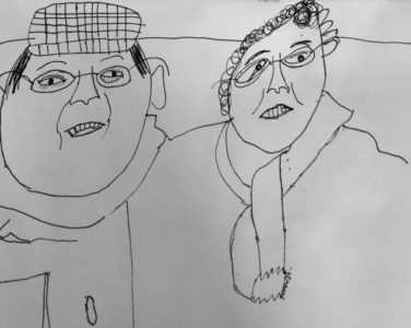 Jack's grandparents from Heath Mount School (yr 4)