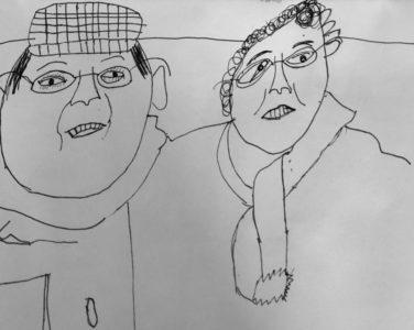 Jack's grandparents from Heath Mount School (yr 4)