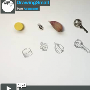 Drawing exercise for use at home or school