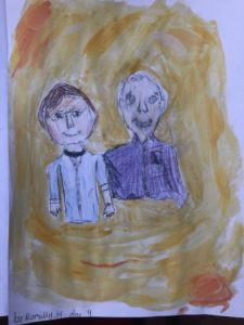 Romilly's Grandparents from Heath Mount School  (Yr 4)