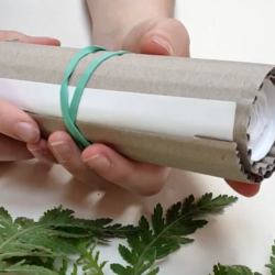 Make a sketchbook out of one long sheet of paper