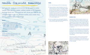 Learn to make more confident drawings and develop your drawings into artist's books! Download the pdf via the form on this page. Suitable for all ages.
