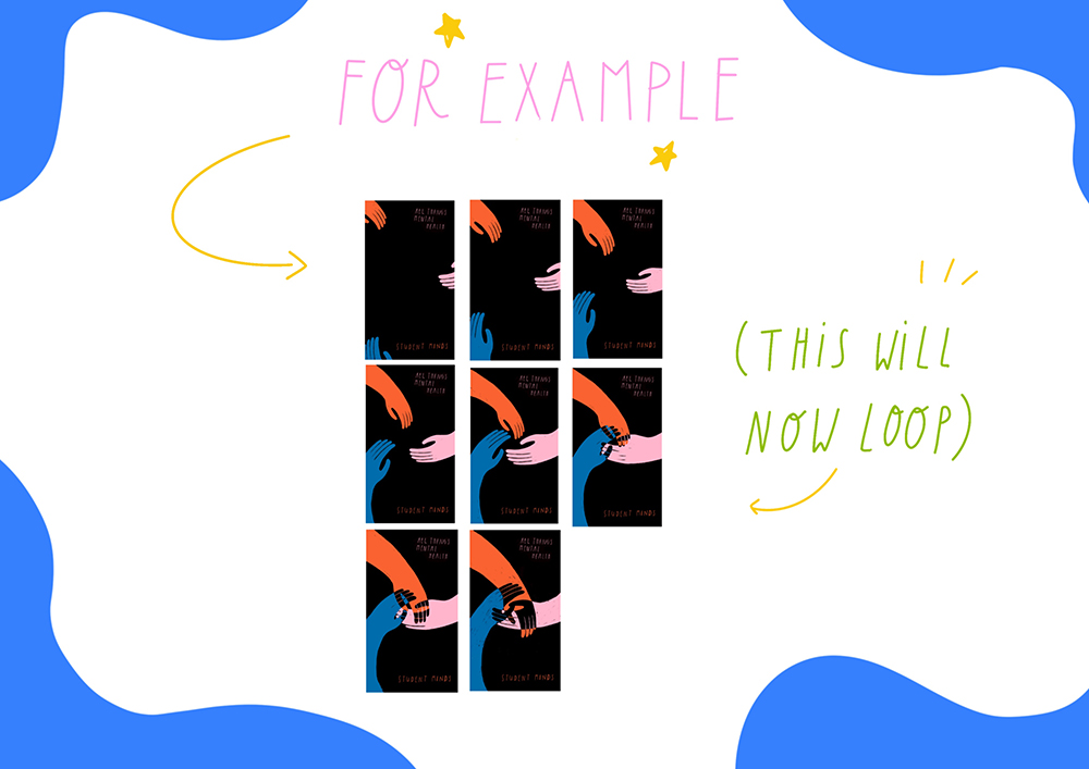 How to Make a Gif by Lizzie Knott, AccessArt