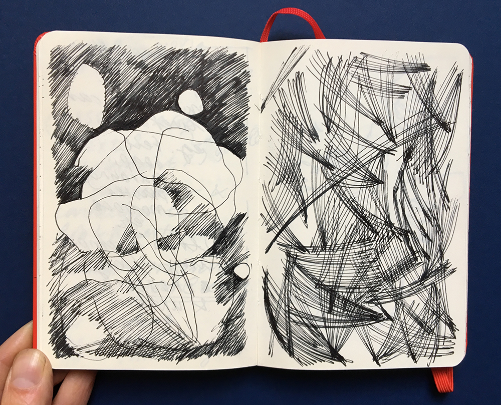 Sketchbook by Jo Blaker