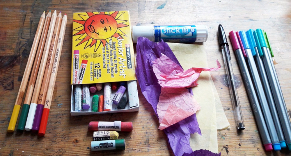 Drawing Materials by Emma Burleigh