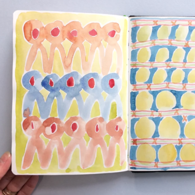 Artist Jo Blaker guides us to explore what sketchbooks are and how we can fill them. Resource ready: End of August 2020