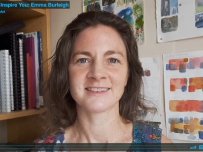 Emma shares her passion for watercolour, and how her images develop.