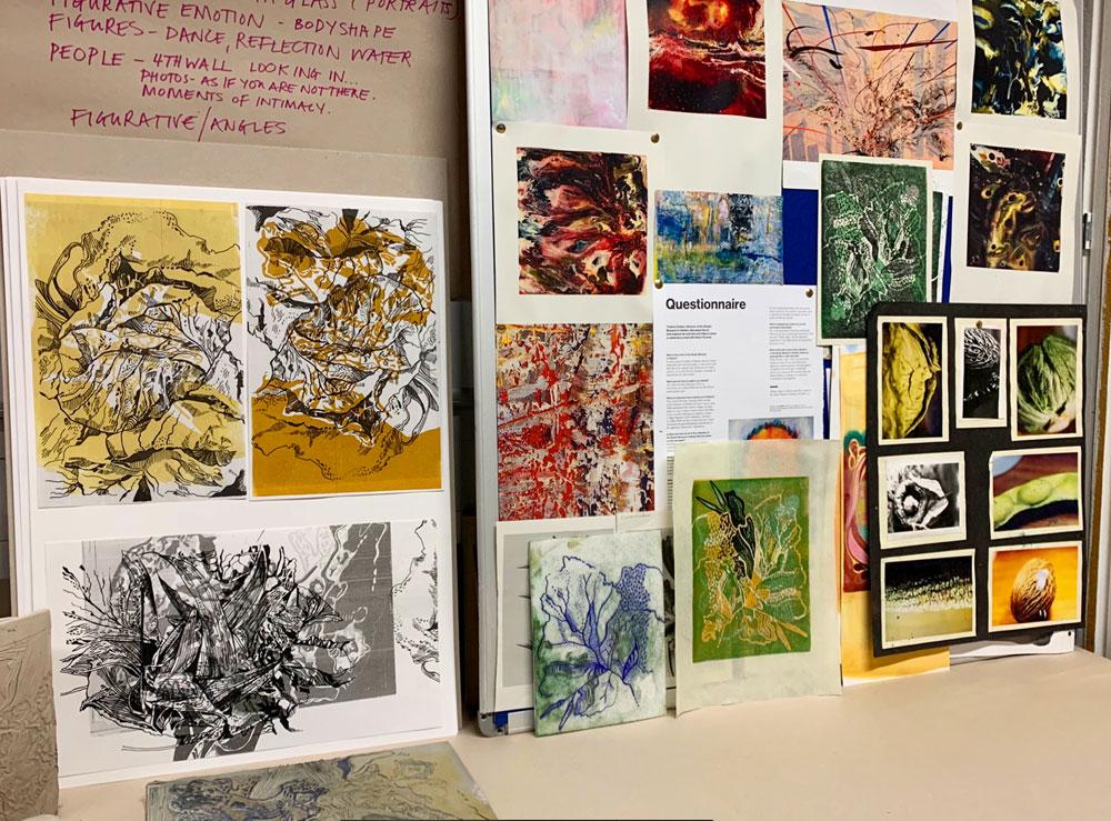 Classroom Wall, Stephanie Cubbin