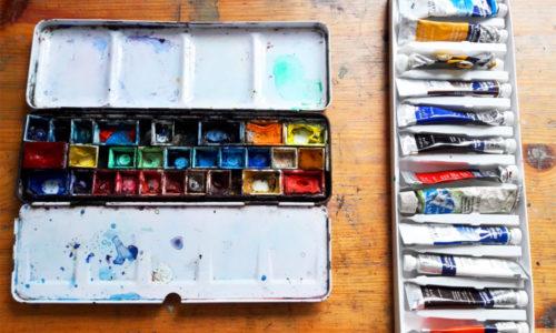 Exploring Through Watercolour Part One