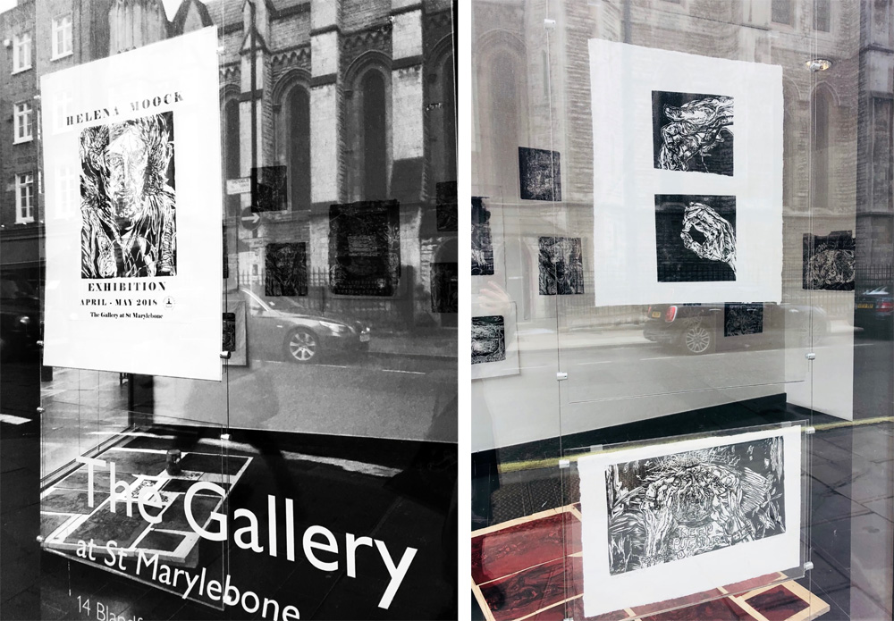 The Gallery at St Marylebone 1 by Stephanie Cubbin