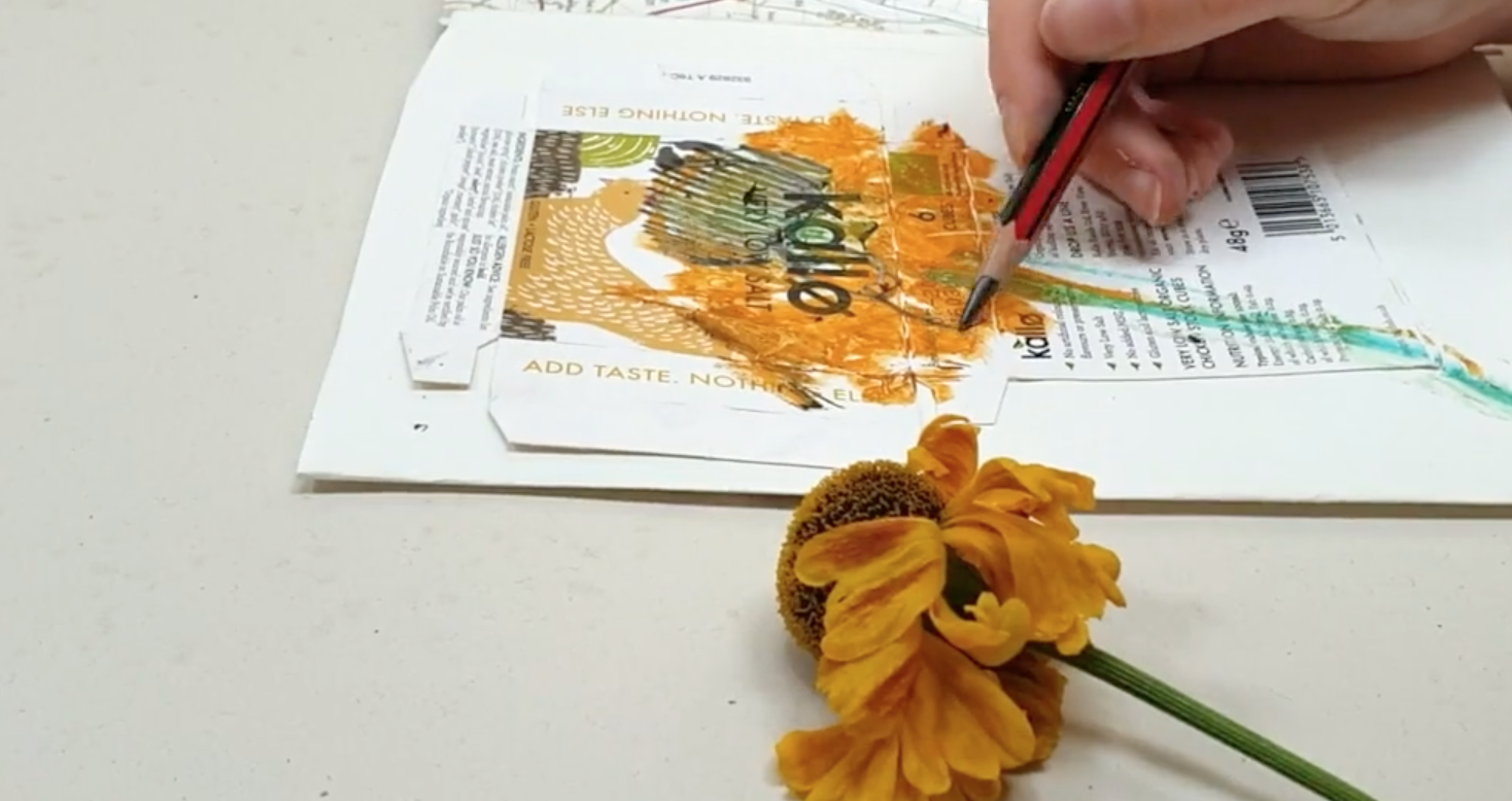 As part of DrawAble, Paula shares a simple way to make an artist's book, suitable for children aged 8 and upwards.