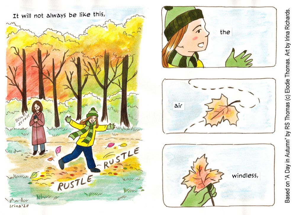 Creating a Poetry Comic