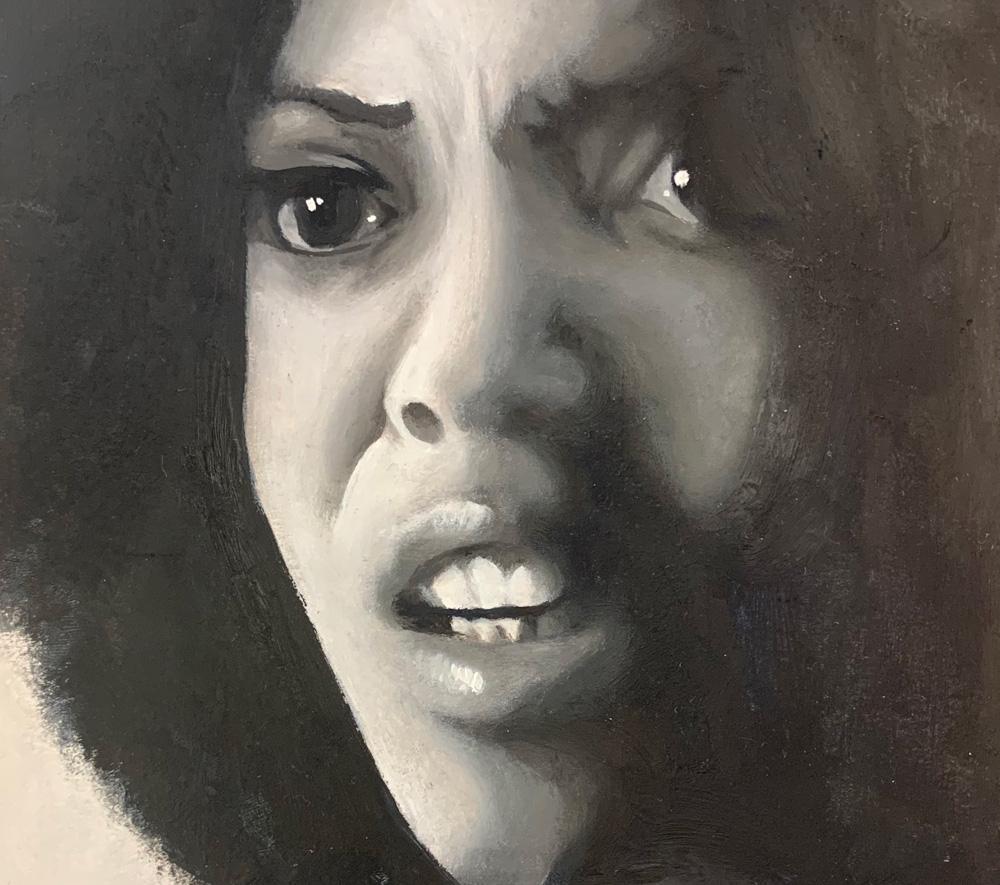 Portrait by Stephanie Cubbin