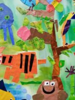 Animal Habitat Mural