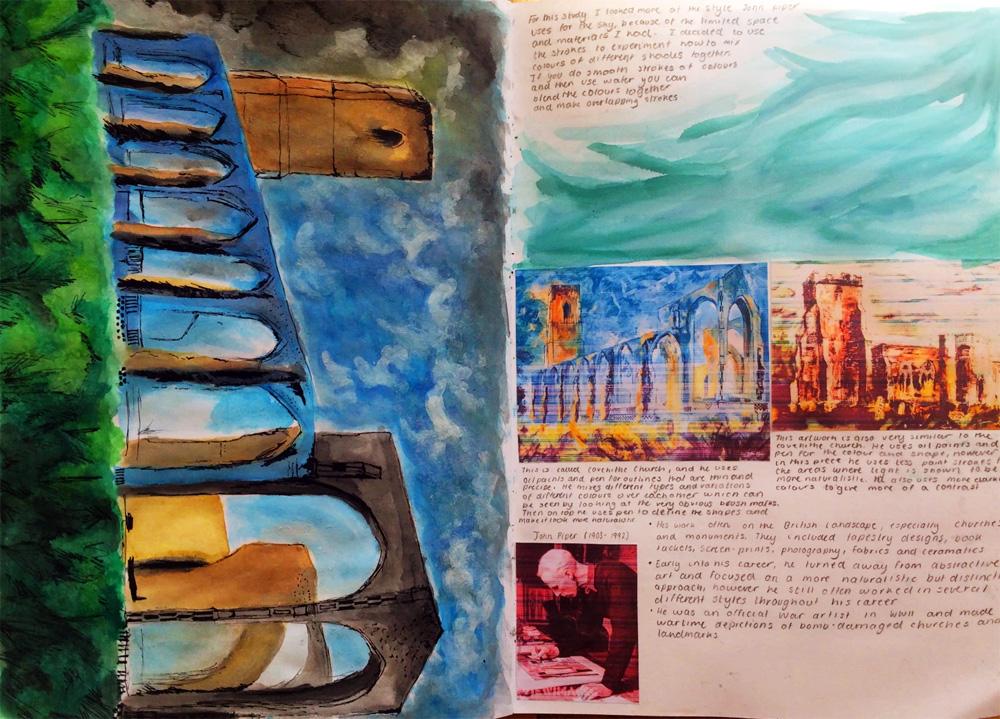 Y8 artist research by Stephanie Cubbin