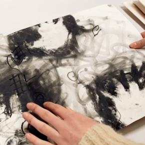 Making a Backwards Sketchbook