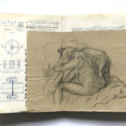Andrea from AccessArt shares her sketchbooks made from old books and magazines