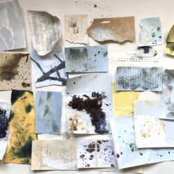 Andrea Butler documents how she creates a sketchbook with sense of history and use