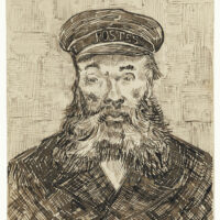 Portrait of Joseph Roulin (1888) by Vincent Van Gogh. Original from the J. Paul Getty Museum. CC0