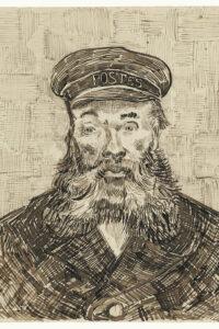 Portrait of Joseph Roulin (1888) by Vincent Van Gogh. Original from the J. Paul Getty Museum. CC0