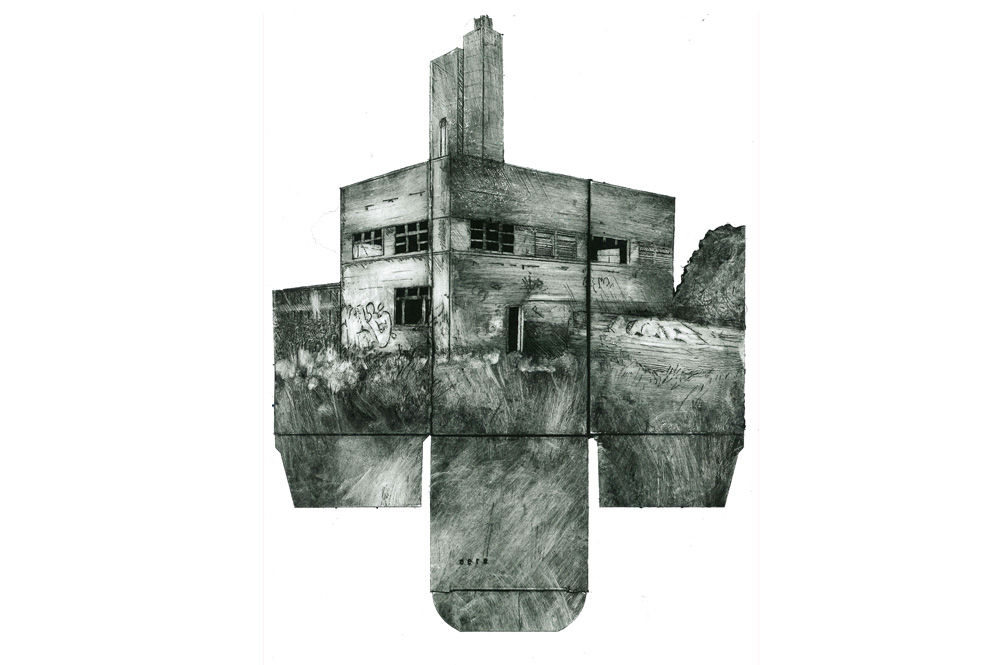 Collagraph by Karen Wicks