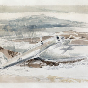 The Raider on the Moors (1940) by Paul Nash. Original from The Yale University Art Gallery.