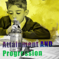 What is the difference between Attainment and Progression?