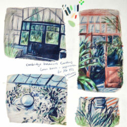 3d Illustrator Rosie Hurley shows us how she develops ideas through sketchbook work