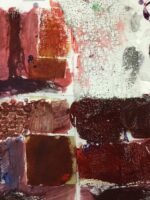 Using sketchbooks to explore ways to paint with texture