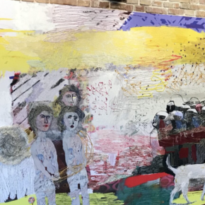Constructing contemporary narratives with thread