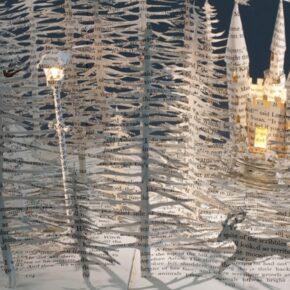 Making fragile paper/book sculptures