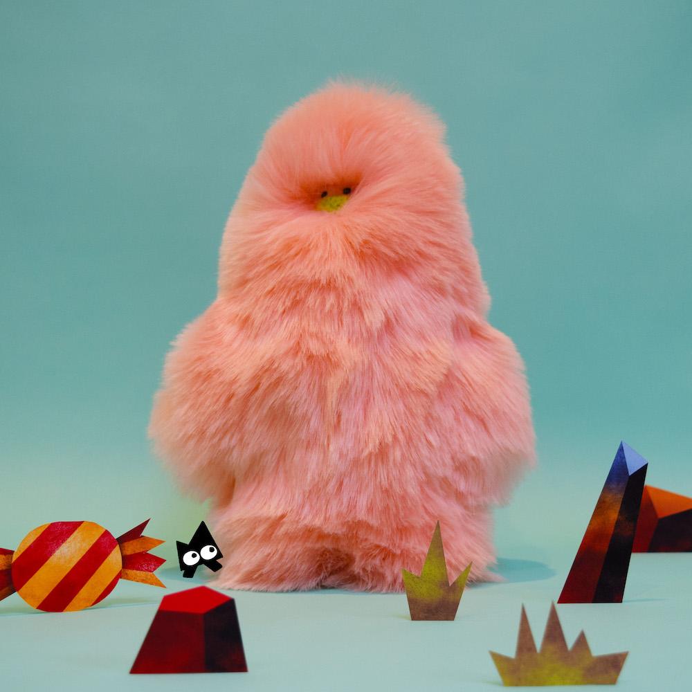 Big Pink sneezie by Toby Prichard