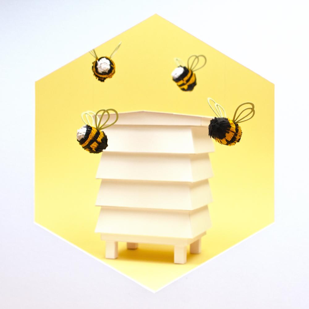 Bee set by Nathan Ward