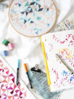 Sketchbook and Samples by Rachel Parker