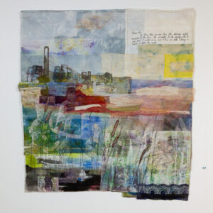 Exhibition Painting With Cloth by Cas Holmes