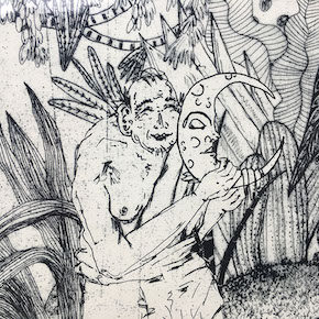 Etching to Illustrate