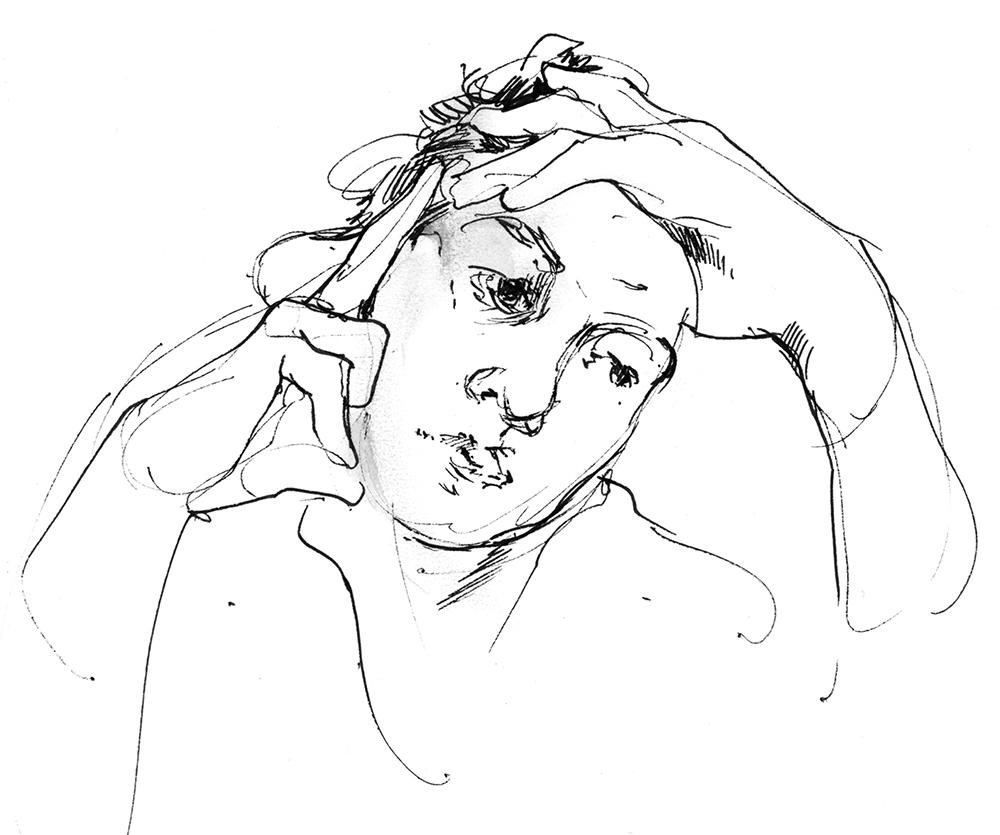 Portrait Club Sketch by Jake Spicer