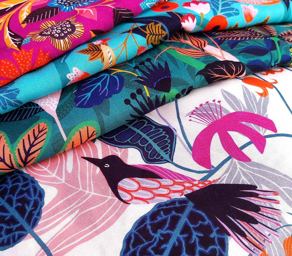 Fabrics for Dashwood Studio by Rachel Parker