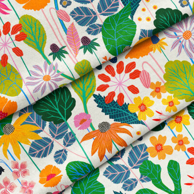 """Image Credit """"Sweet William Fabric by Rachel Parker"""""""