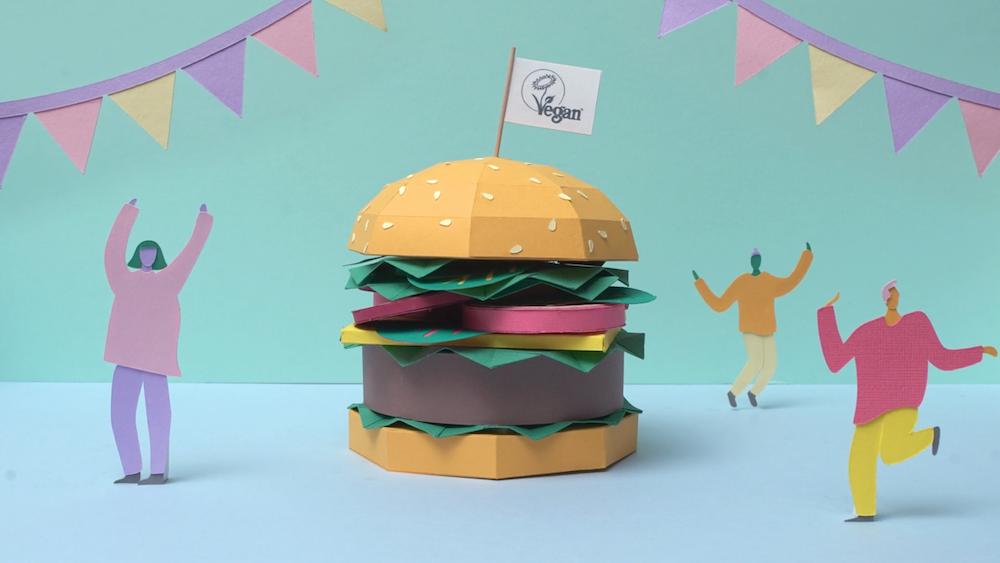 Paper Burger by Nathan Ward