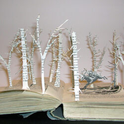 Book Trees by Su Blackwell