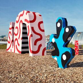 Multidisciplinary Artists Creating Playful Designs for Installations