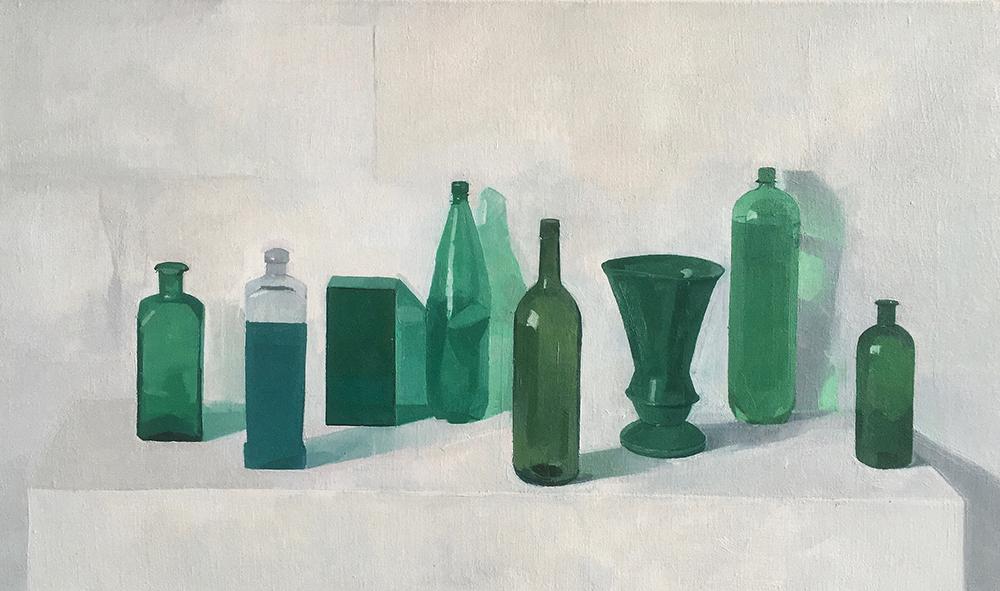 Arrangement in Green by Jason Line
