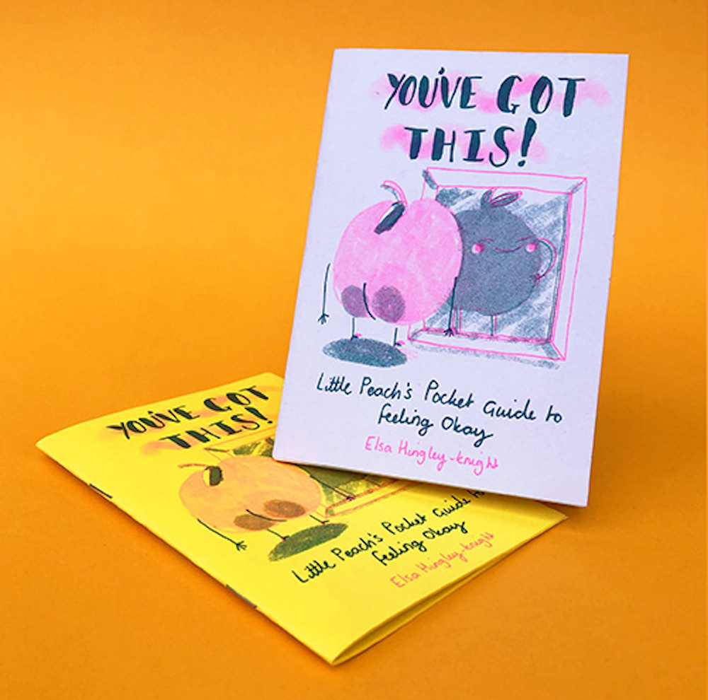 Lemon and Lime Peach Zine by Elsa ands Sarah Hingley